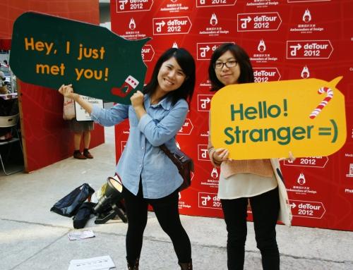 """""""Hello Stranger!"""" @ deTour"""